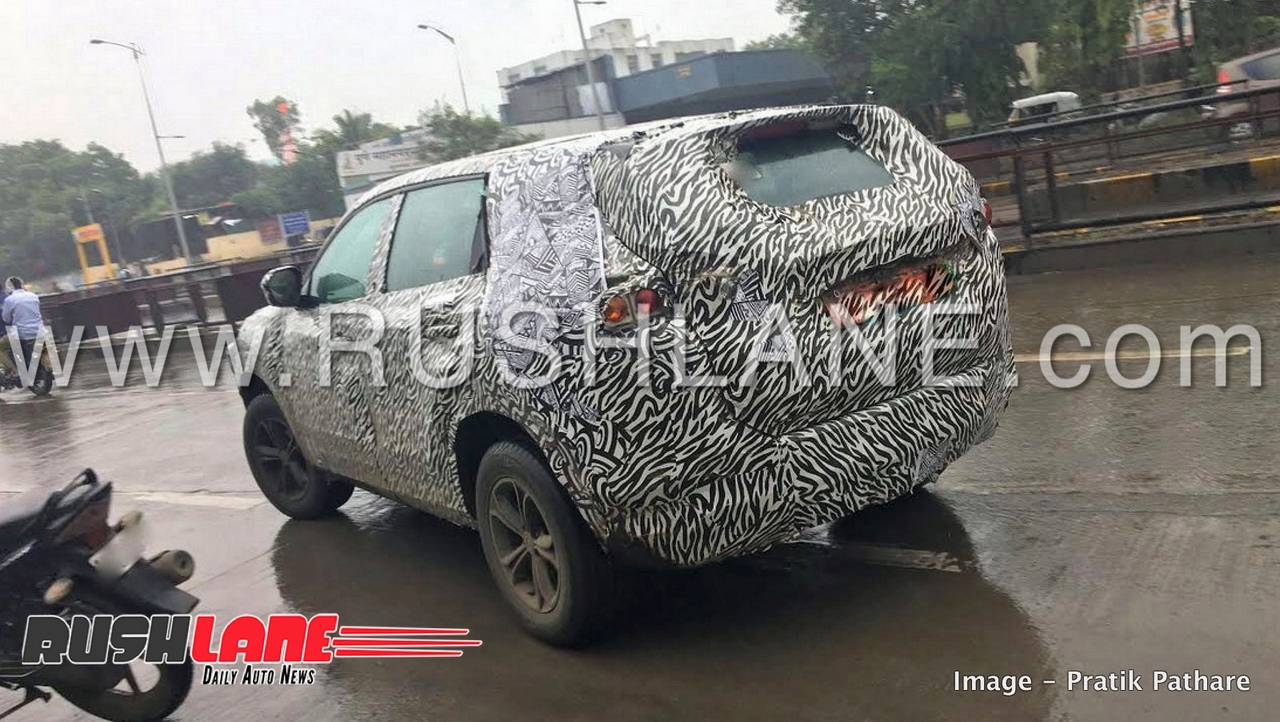 Tata Harrier H5x To Launch In January 2019 New Spy Shots