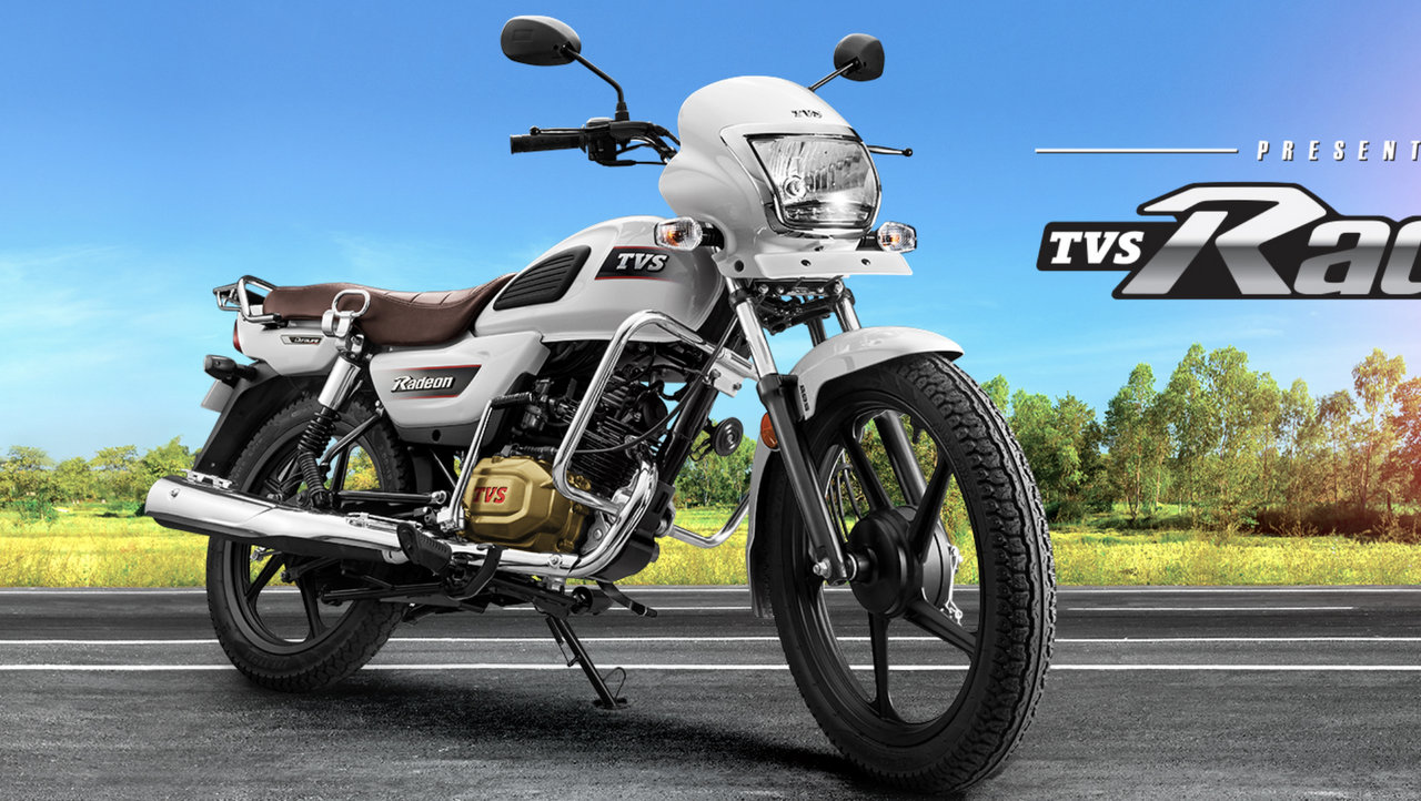 Tvs Radeon 110 Cc Commuter Motorcycle To Rival Hero