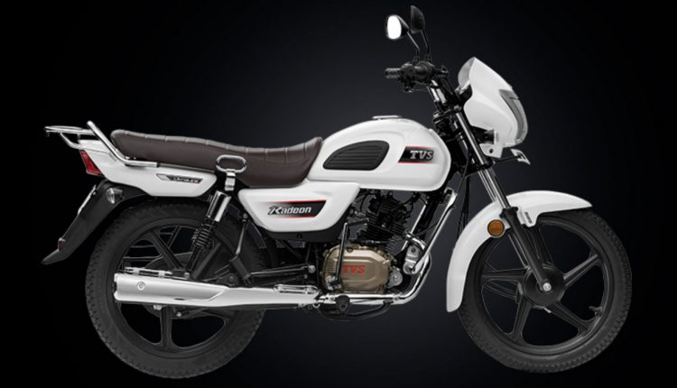 New Tvs Radeon Scooter X on 3 Cylinder Motorcycle Engine
