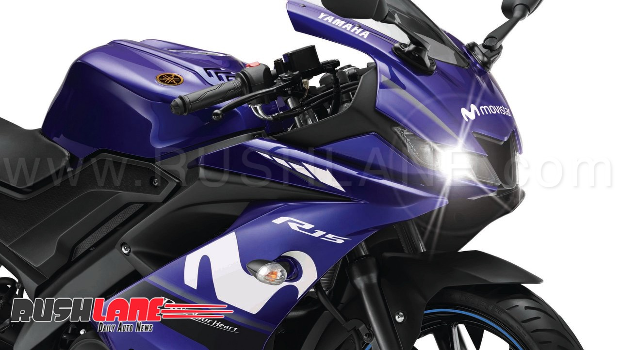 2018 yamaha r15 v3 moto gp limited edition launched price rs 1 3 lakhs. Black Bedroom Furniture Sets. Home Design Ideas