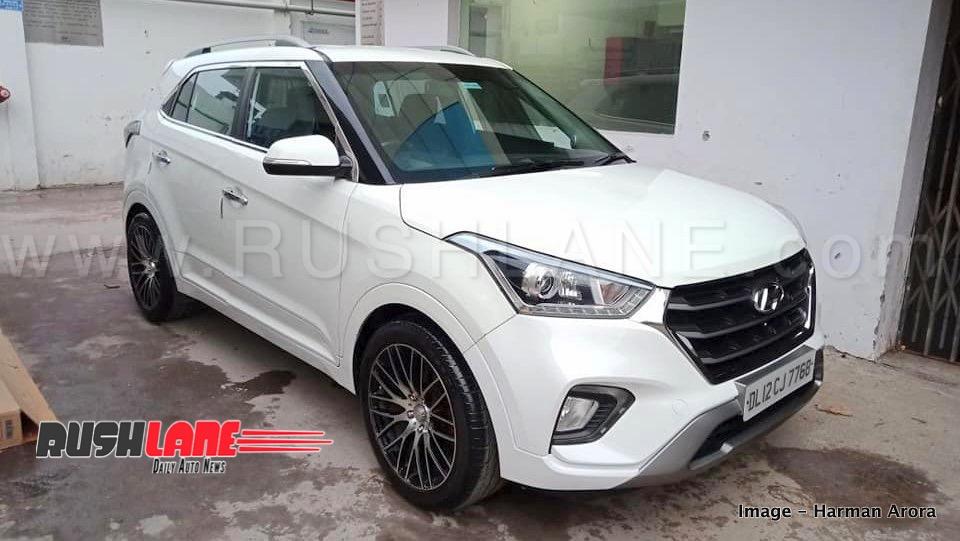 Old Hyundai Creta Modified New Dealer India