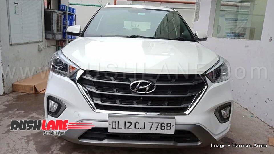 Old Hyundai Creta Modified To New 2018 Hyundai Creta Rs 31k Via Dealer