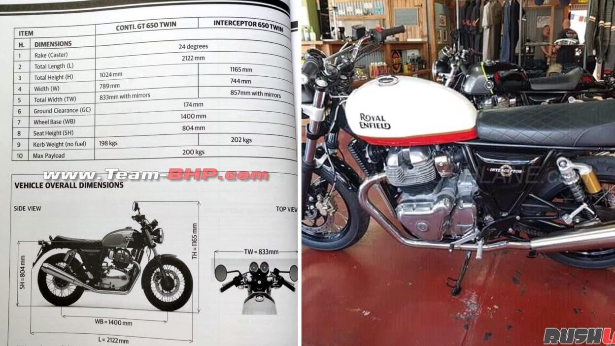 Royal Enfield 650 Specs Leak