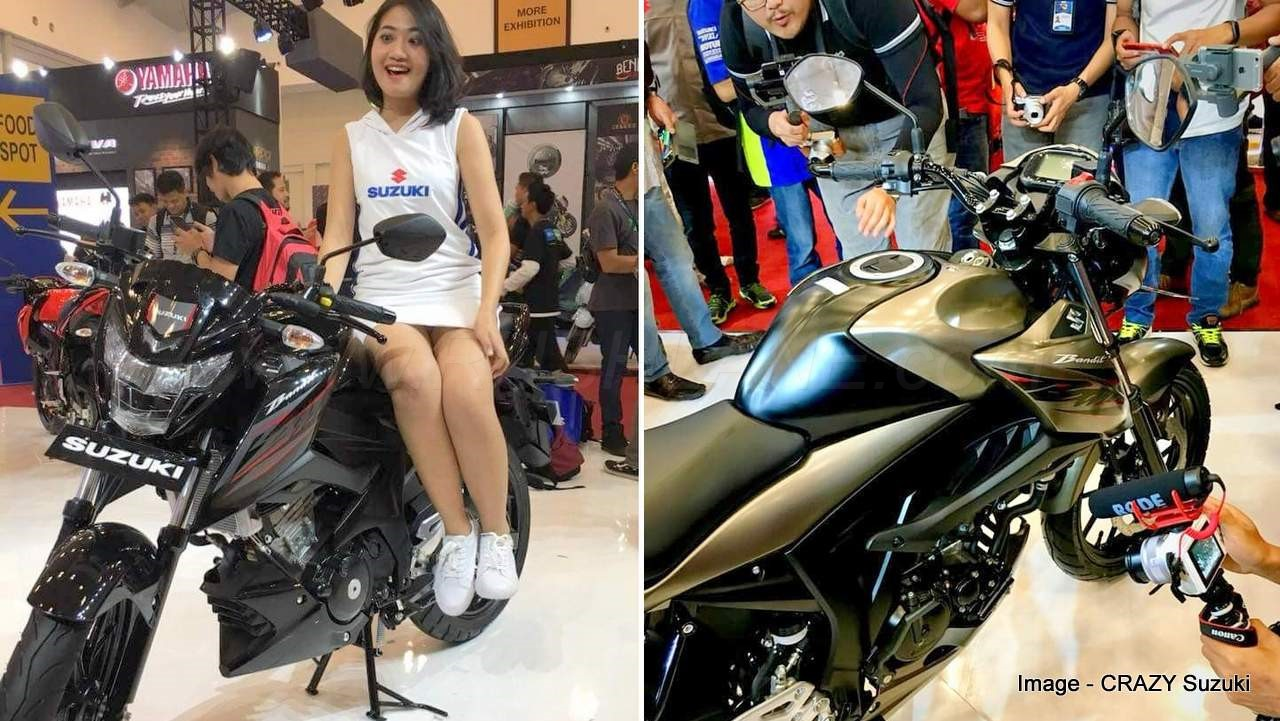 Suzuki Gsx150 Bandit Debuts Is This The Updated Gixxer 150 For