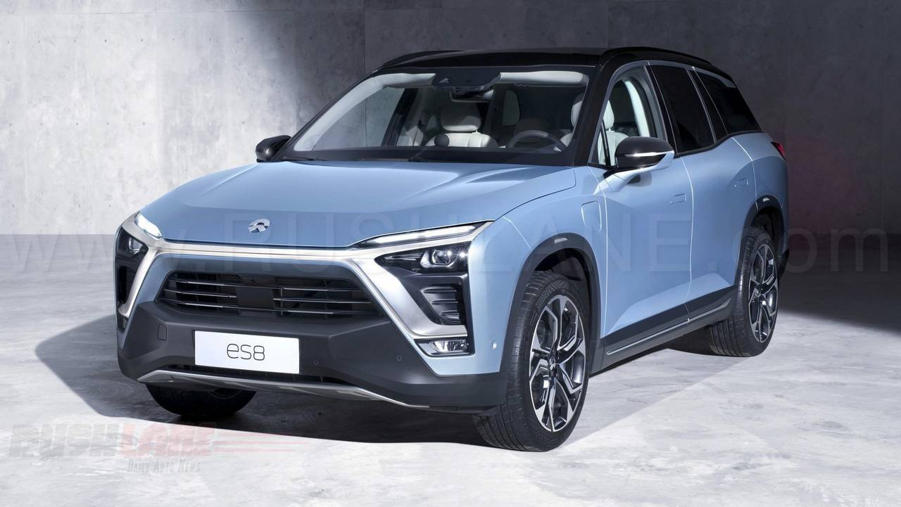 7 Seater Suv 2017 >> Nio ES8 electric SUV for China, is developed by Tata Tech ...