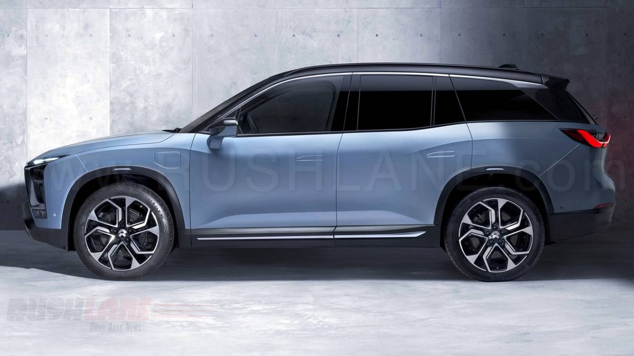 Nio Es8 Electric Suv For China Is Developed By Tata Tech