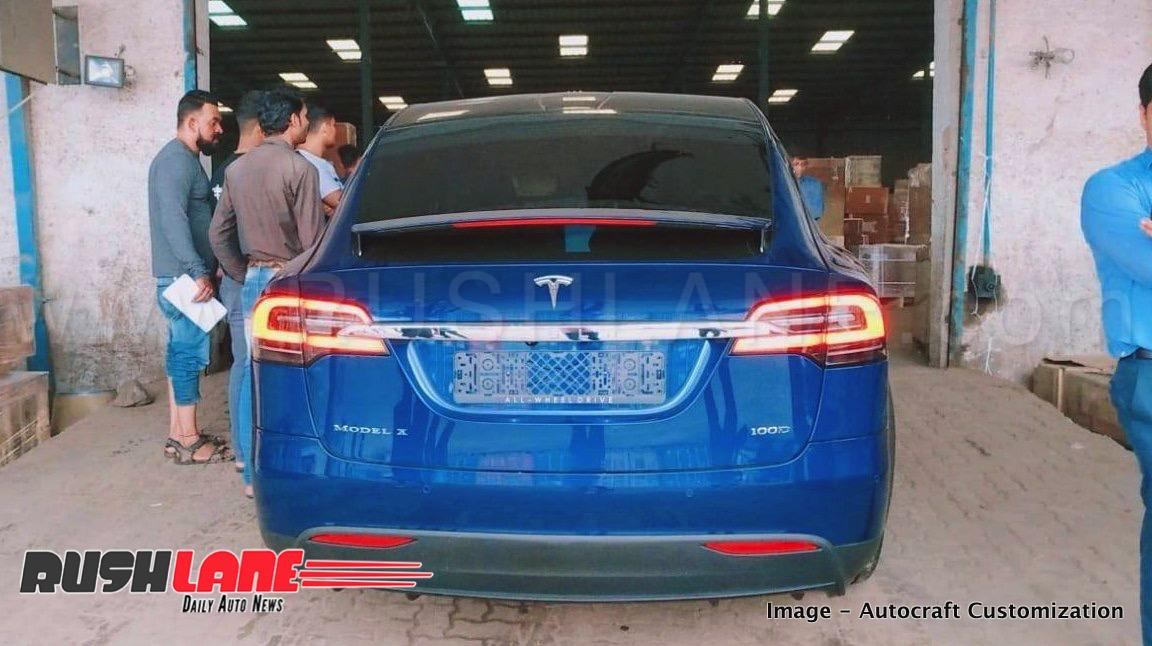 Tesla Model X SUV lands in India from America - 475 kms ...