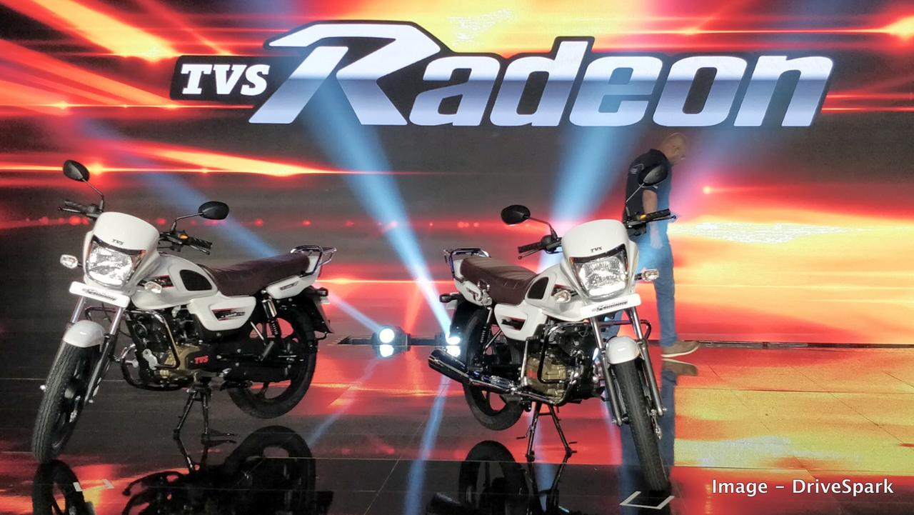 Tvs Radeon 110 Cc Commuter Motorcycle To Rival Hero Splendor Price