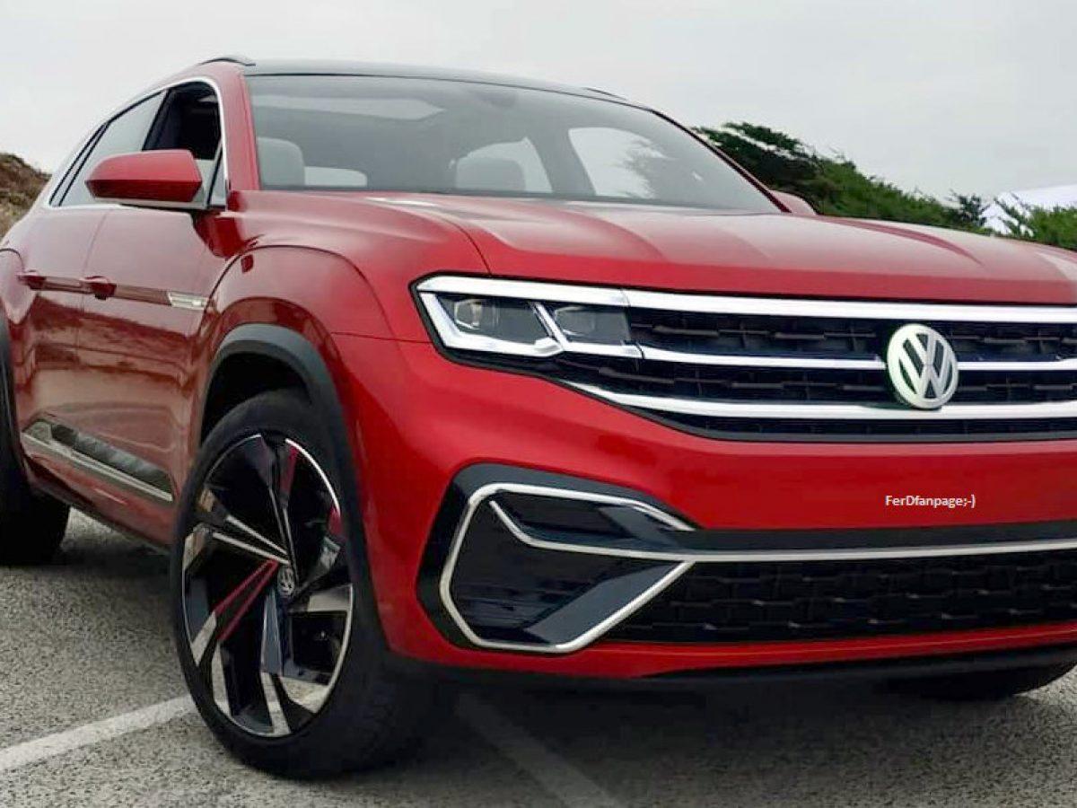 New Volkswagen Atlas Cross Sport Suv Tanoak Pick Up Debuts