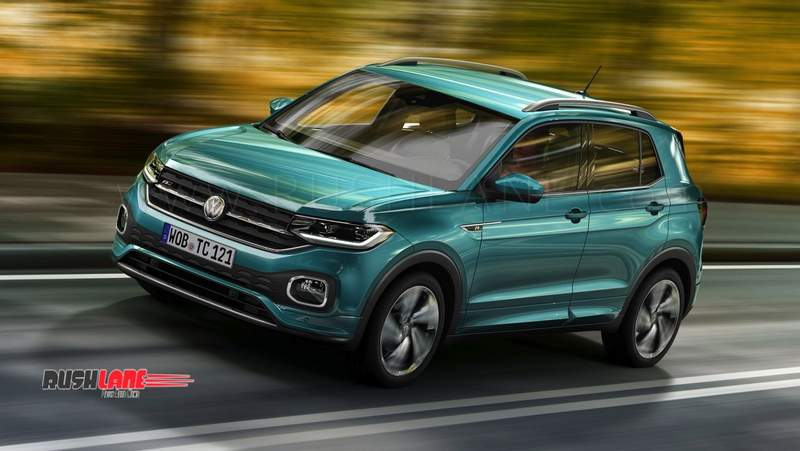 Volkswagen T Cross Suv Debuts Will Launch In India To Rival
