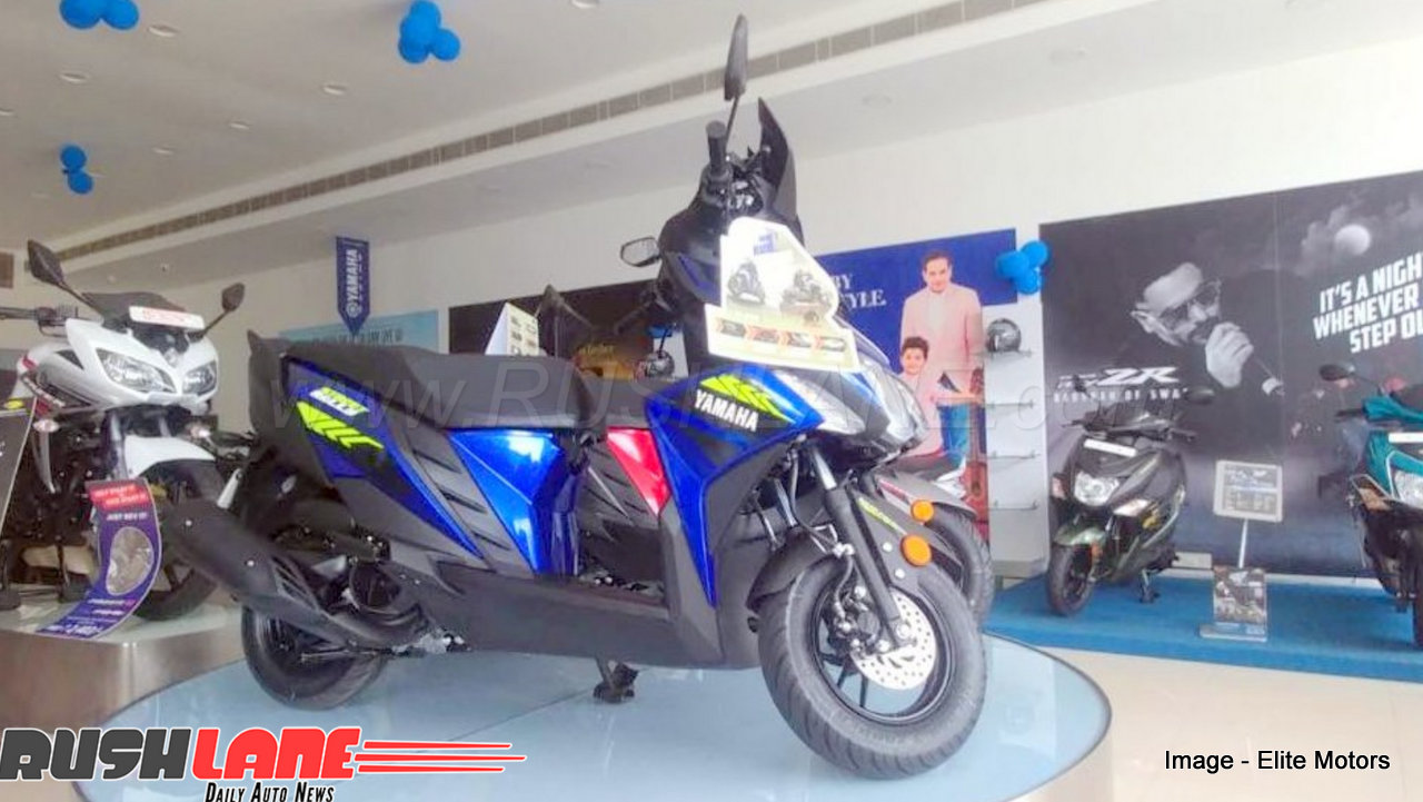 Alpha Auto Sales >> 2018 Yamaha RayZR Street Rally scooter arrives at dealer - Rivals new Honda Activa