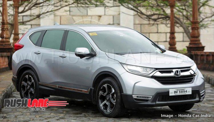 New honda crv diesel 7 seater suv for india mahindra for Honda crv india