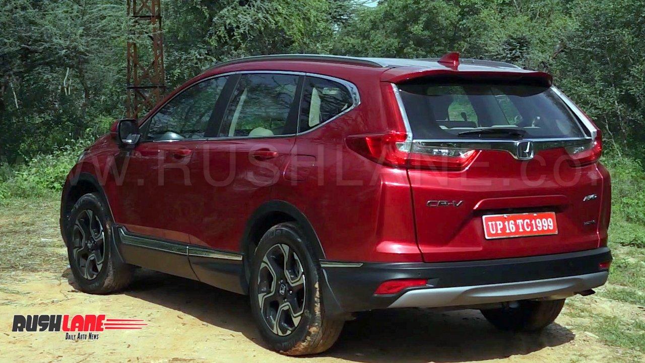 Honda Crv 7 Seater >> New Honda CRV diesel review - 7 seater SUV with 9 speed ...