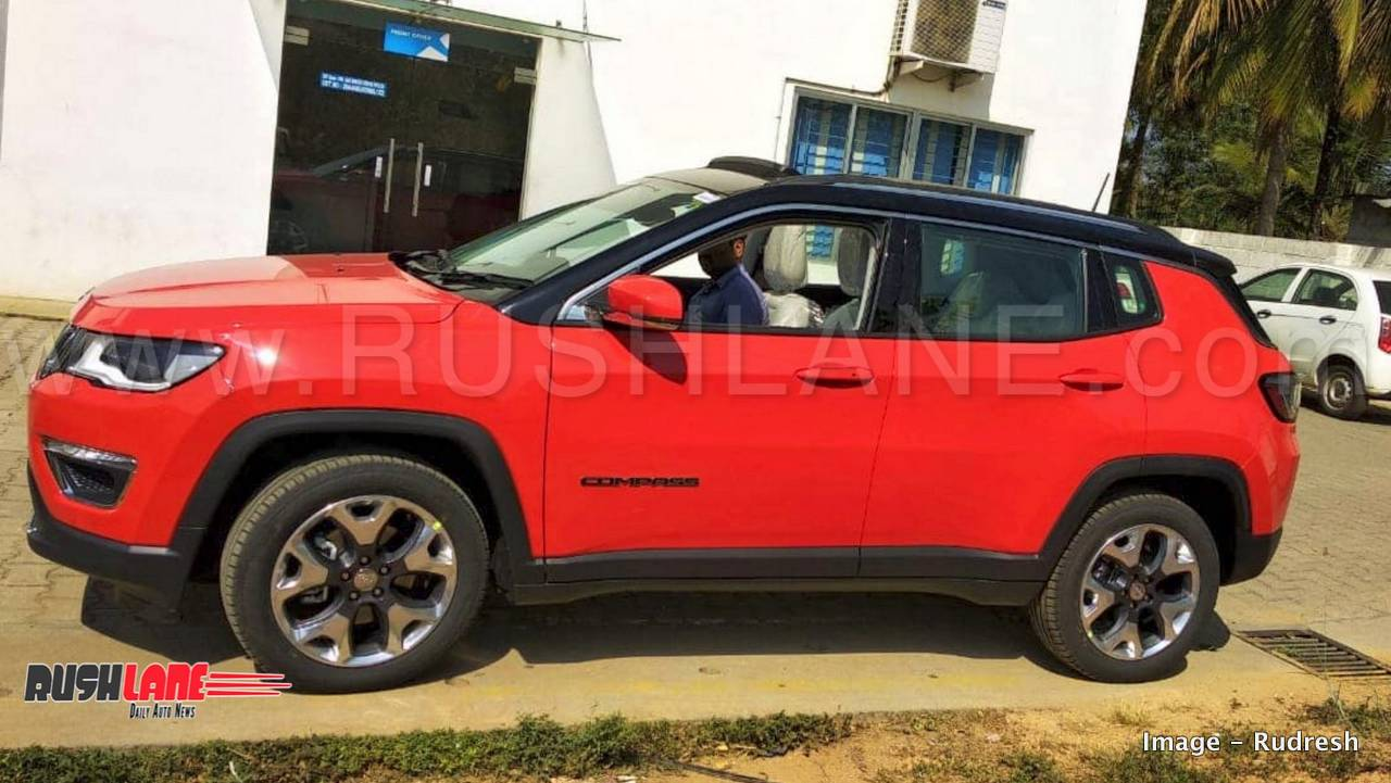 Right Hand Drive Jeep >> Jeep Compass Limited Plus launch price Rs 21 L to 23 L - First Look Video