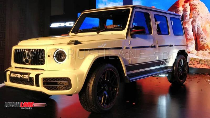 2018 Mercedes Amg G63 Launched In India 65 Kgs Lighter Price Rs