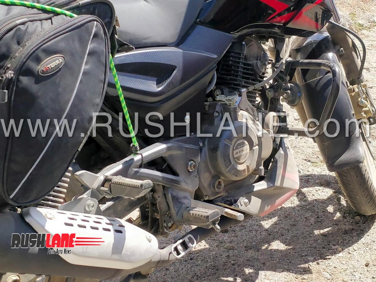 New Bajaj Pulsar 150 ABS spied for the first time - Launch expected