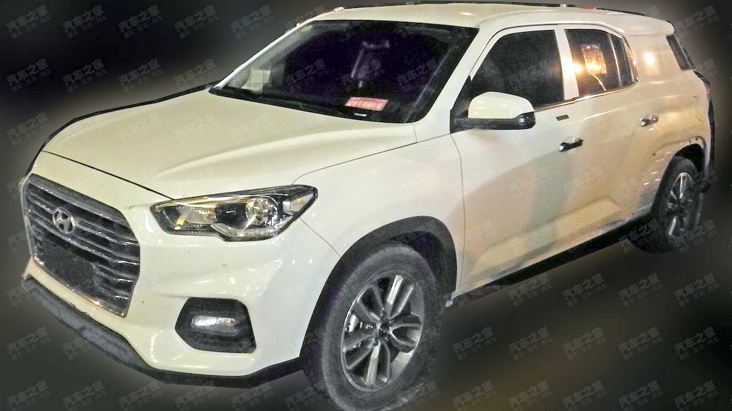 2019 Hyundai Tucson 7 seater spied - Rival to upcoming