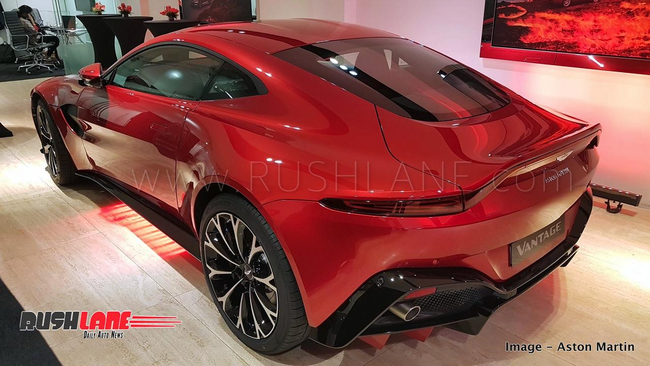 New Aston Martin Vantage India Launch Price Rs 2 95 Cr Only 20