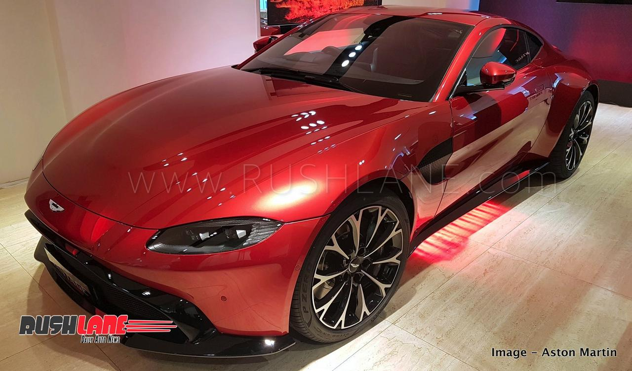 New Aston Martin Vantage India Launch Price Rs Cr Only - New aston martin price