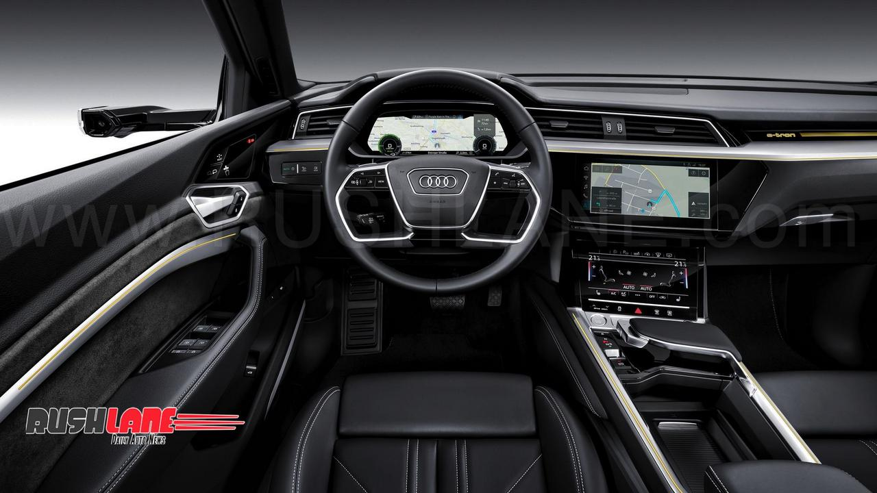 Suv Tesla Interior >> Audi eTron full electric car debuts - Tesla rival SUV does 200 kmph top speed