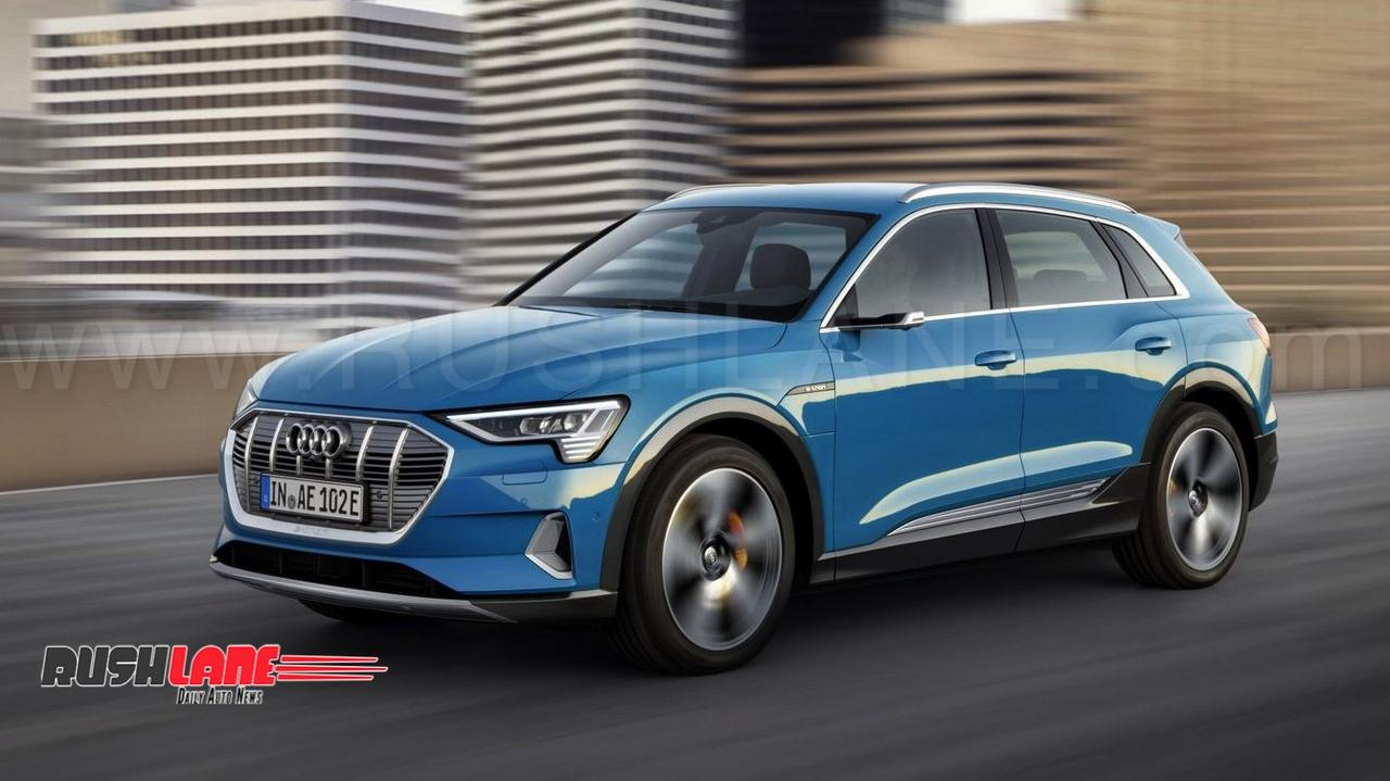 Audi Etron Full Electric Car Debuts Tesla Rival Suv Does
