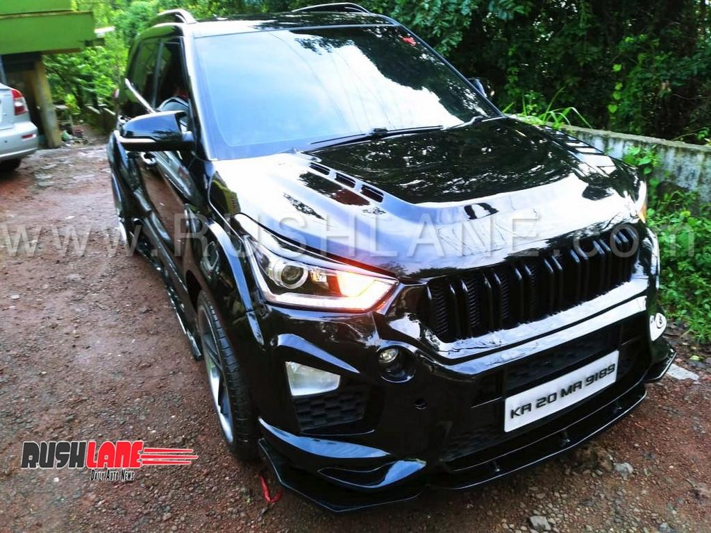 hyundai creta with bmw x3 body kit delivers 160 hp