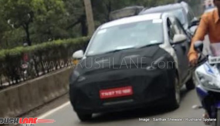 2019 Hyundai Grand I10 Spied In Pune Getting Homologated