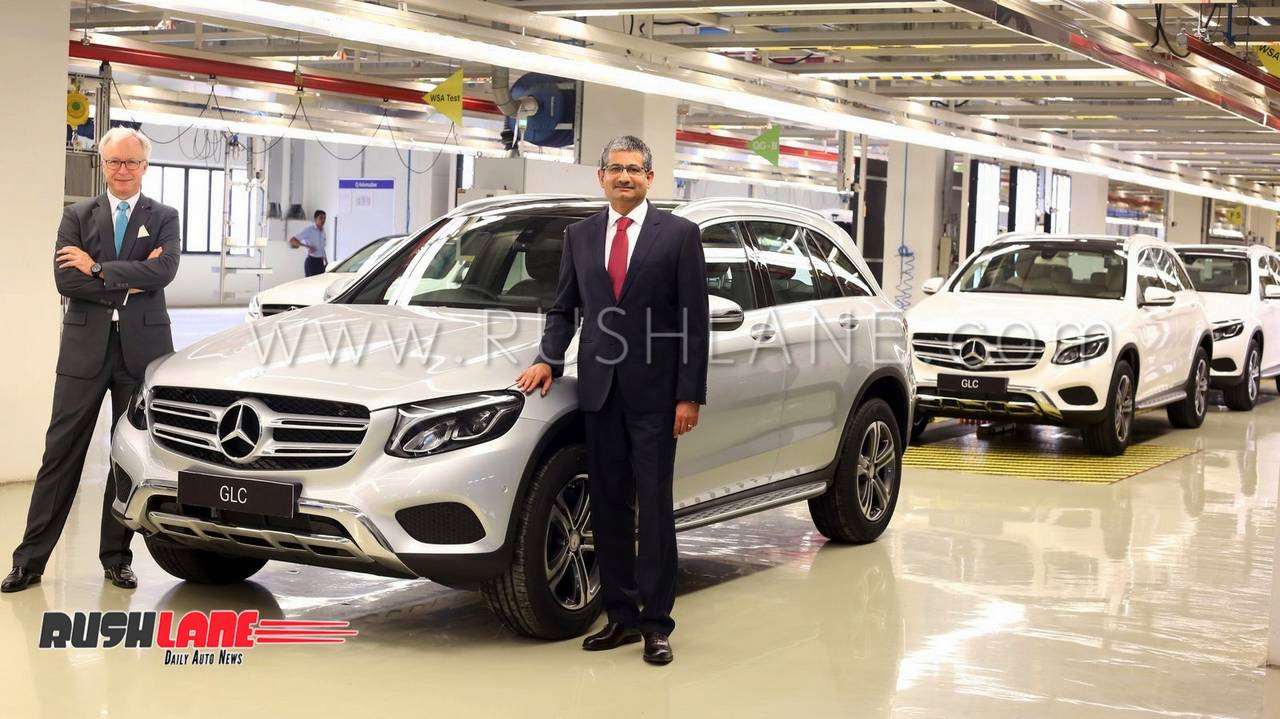File Photo Of First Mercedes Glc Being Rolled Off The Production Line At Pune India Plant