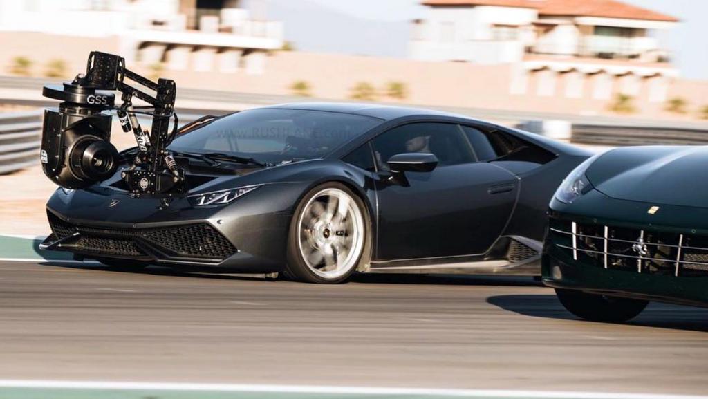 Lamborghini Huracan Modified As The World S Fastest Camera Car For