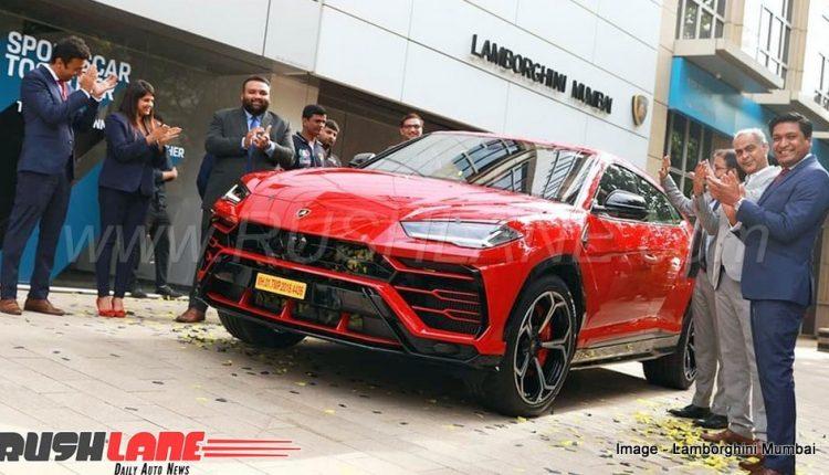 Lamborghini Urus India record sales