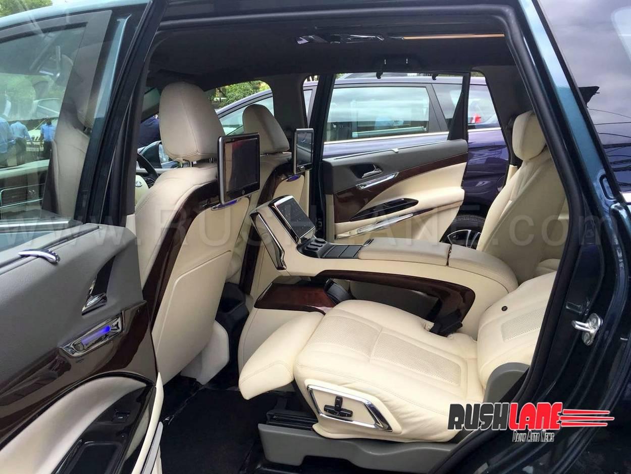 Mahindra Marazzo Customised Dc Style Leather Seats Android Tv
