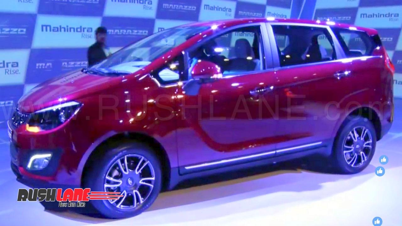 New Mahindra Marazzo Mpv Price Rs 10 Lakhs Maruti Ertiga Toyota
