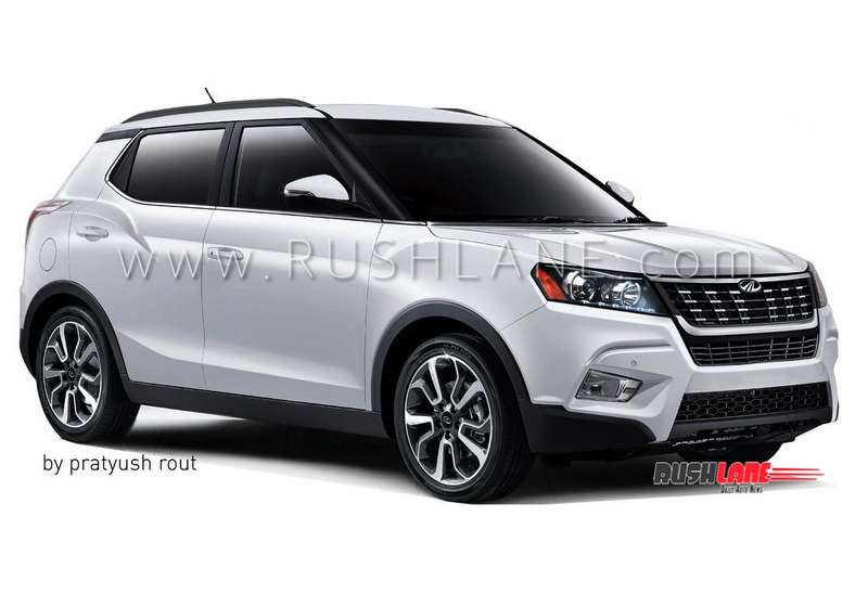 Mahindra Xuv300 Electric Hybrid Planned For Launch To Rival Maruti