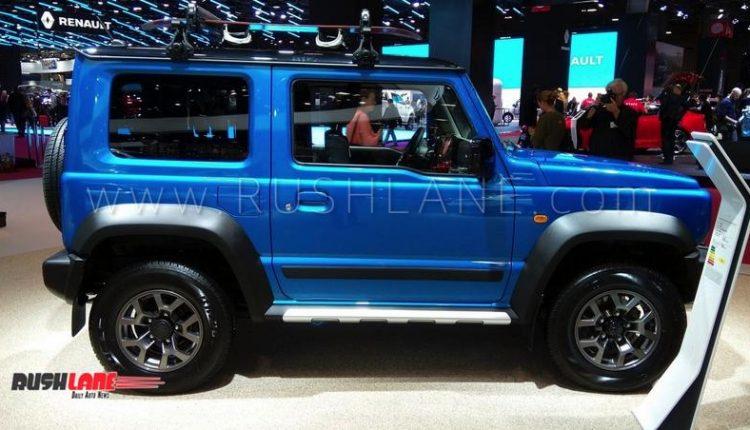 Suzuki Jimny Suv Accessorized Variant Showcased Launched