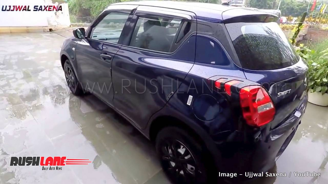 new maruti swift limited edition arrives at dealer