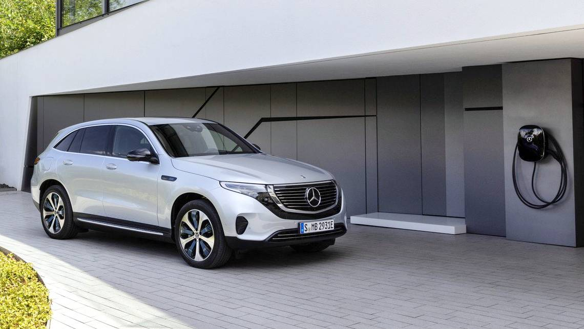 Mercedes Eqc Electric Suv Debuts Aims To Rival Tesla S