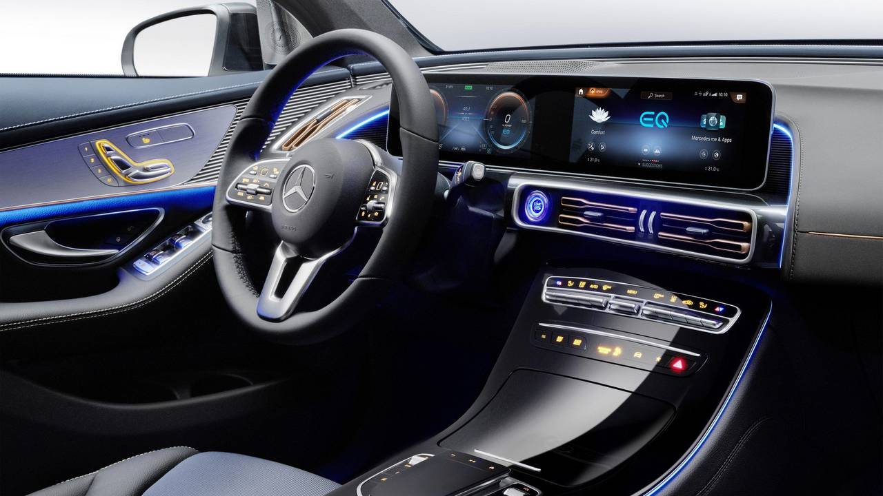 Mercedes EQC electric SUV debuts - Aims to rival Tesla's ...