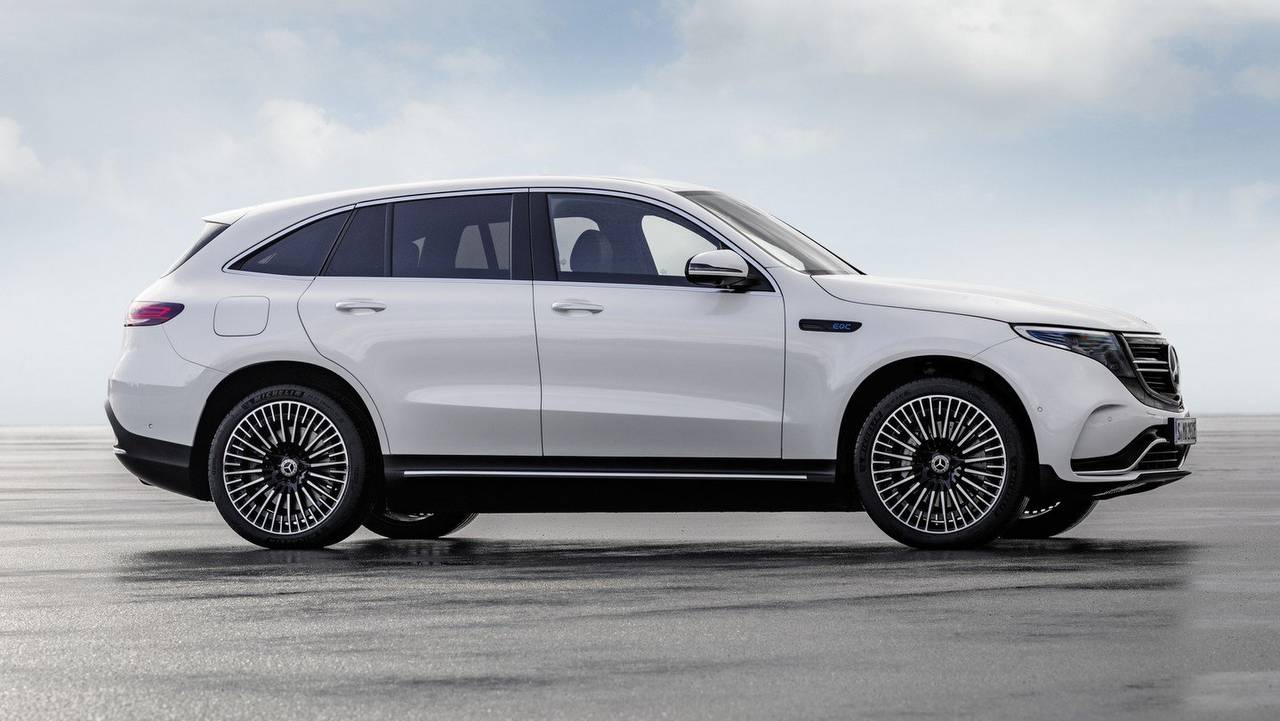 Lithium Ion Car Battery >> Mercedes EQC electric SUV debuts - Aims to rival Tesla's