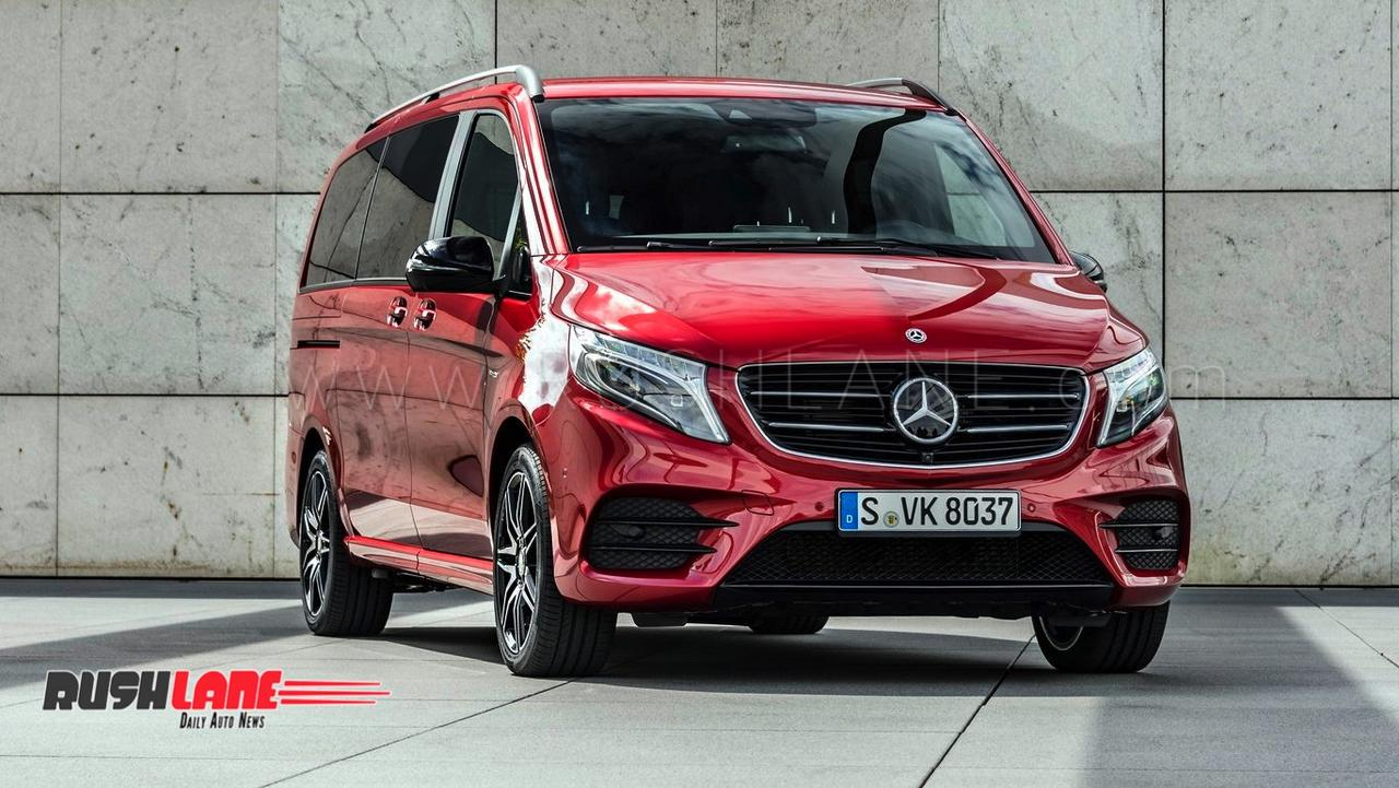 Luxury Vehicle: Mercedes V Class Luxury Van Being Assessed For India Launch