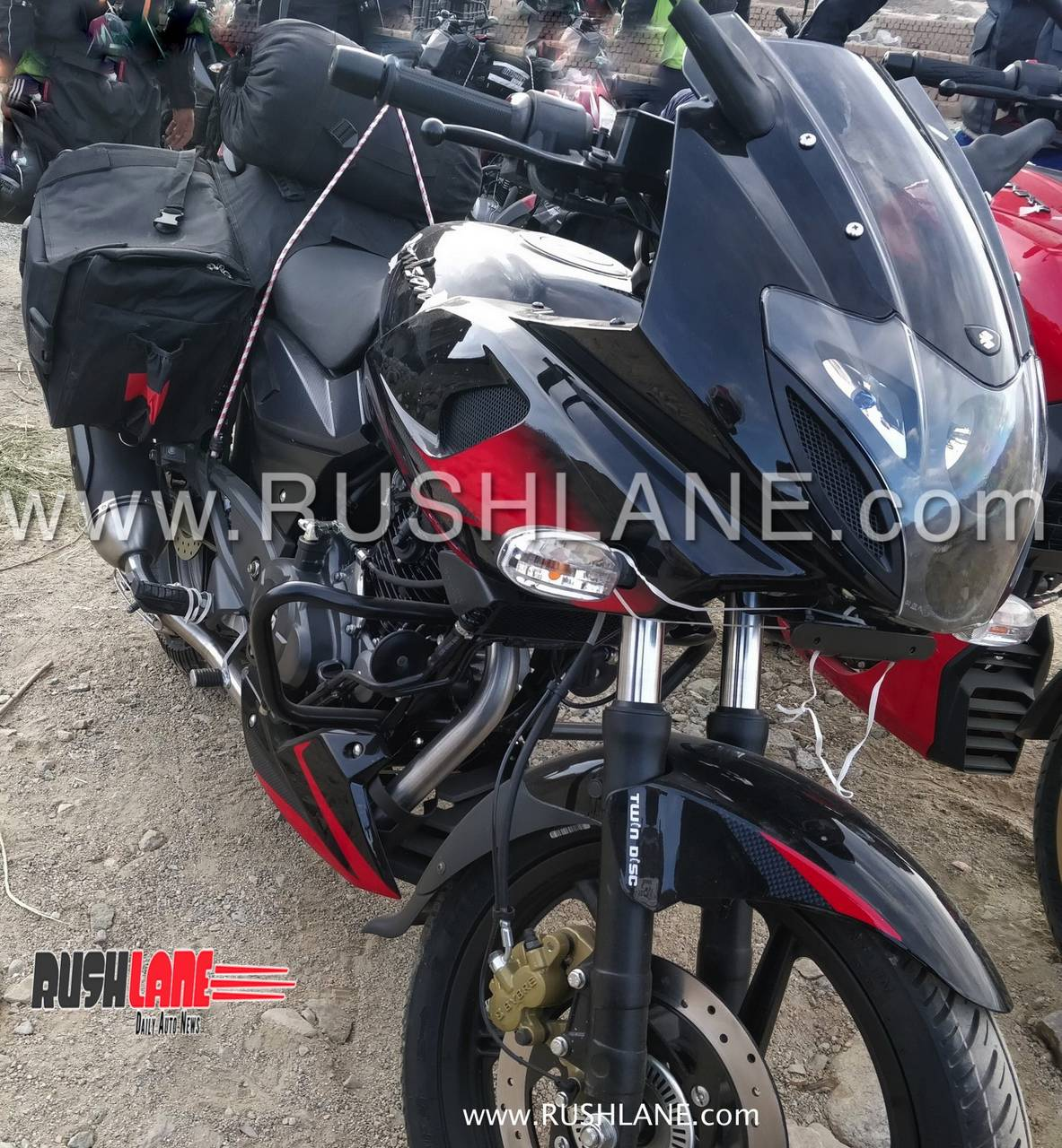 2019 bajaj pulsar 220f abs launch soon spied for the first time