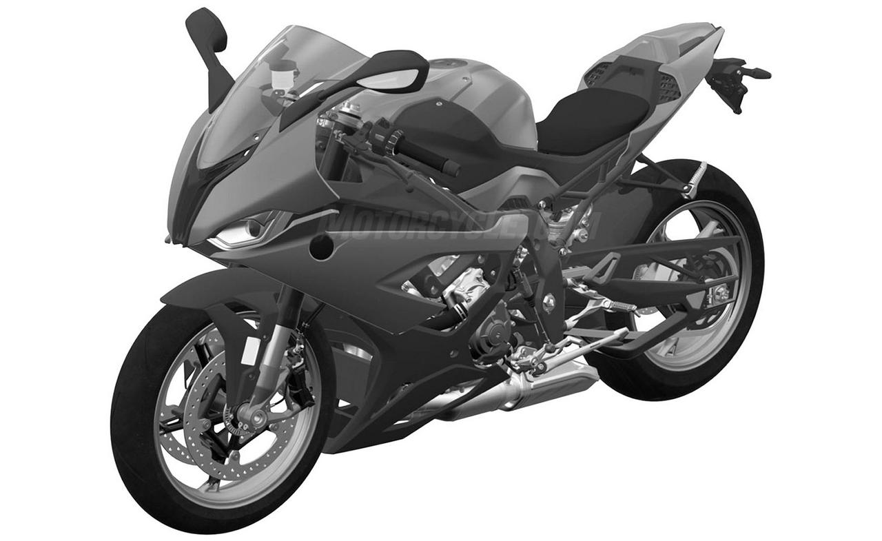 2019 Bmw S1000rr Sports Bike Leaked Via Patent Images From