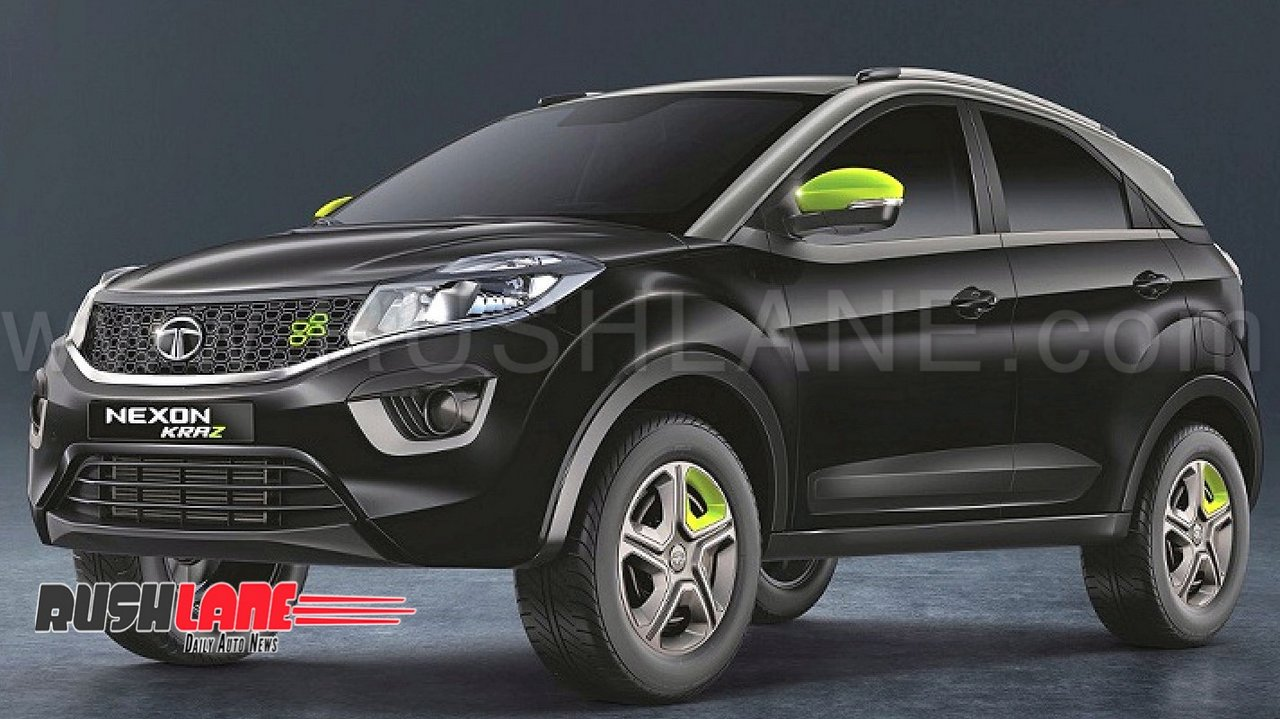 2018 Tata Nexon Kraz Launched Price Rs 7 15 L For Petrol