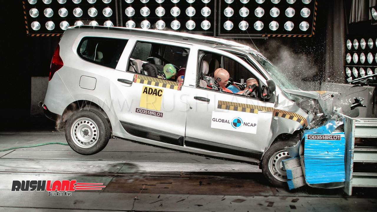 india-spec renault lodgy fails global ncap crash test - scores 0