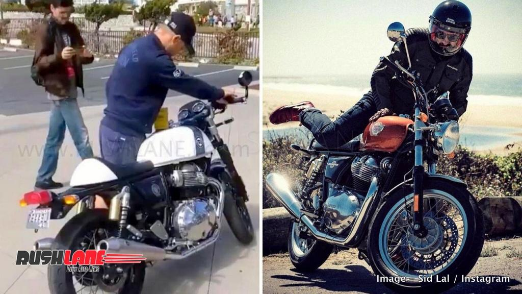 New Royal Enfield 650 Revs Up To A Thundering Exhaust Note Video