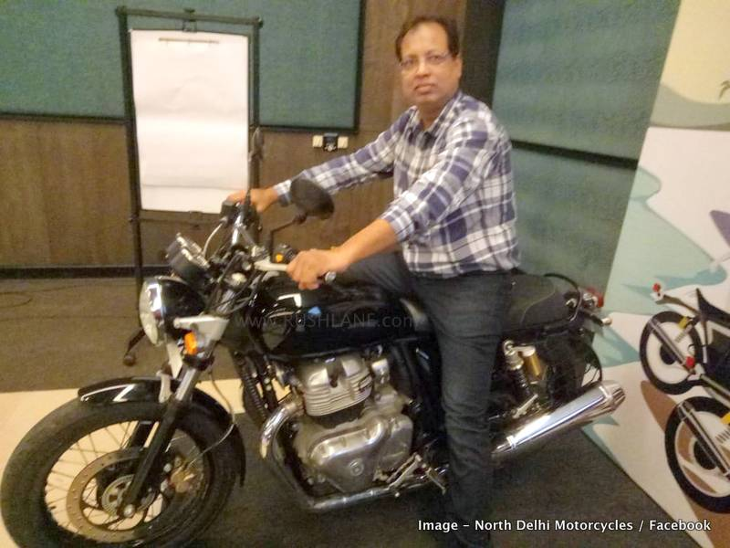 Royal Enfield 650 Showcased To Dealers In India Media Ride In Goa