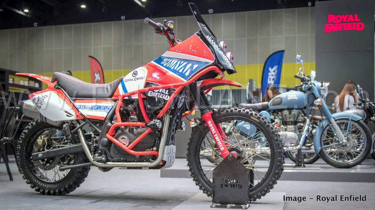 Royal Enfield Himalayan Dakar Rally Inspired Off Road Variant Showcased