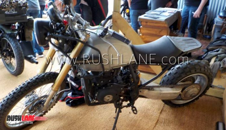 Royal Enfield Himalayan Modified To Deliver Thunderbird