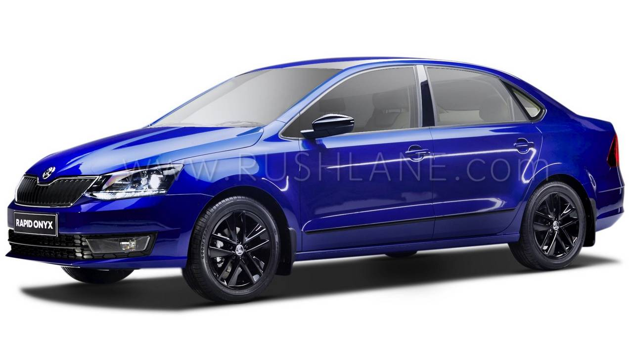 2018 Skoda Rapid Onyx Launch Price Rs 9 75 Lakhs Gets 8 New Features