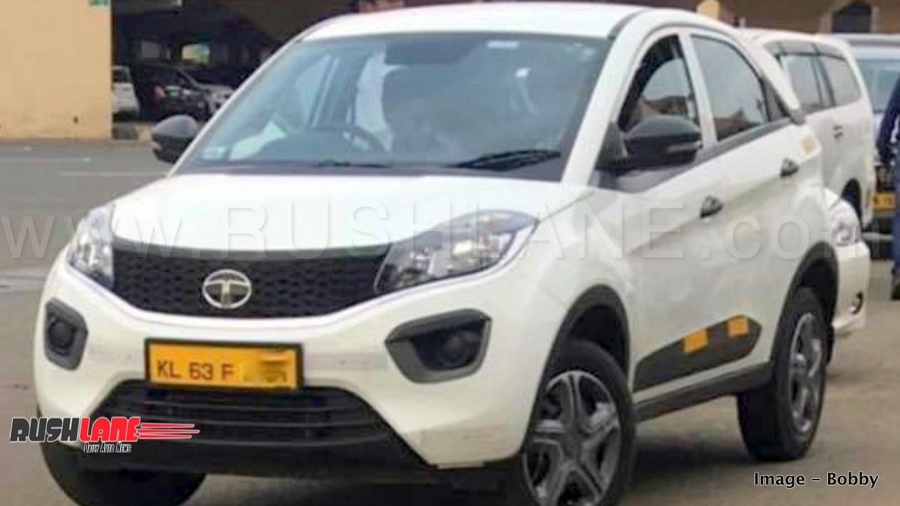 Tata Nexon Taxi With Yellow License Plate Spotted In Kerala