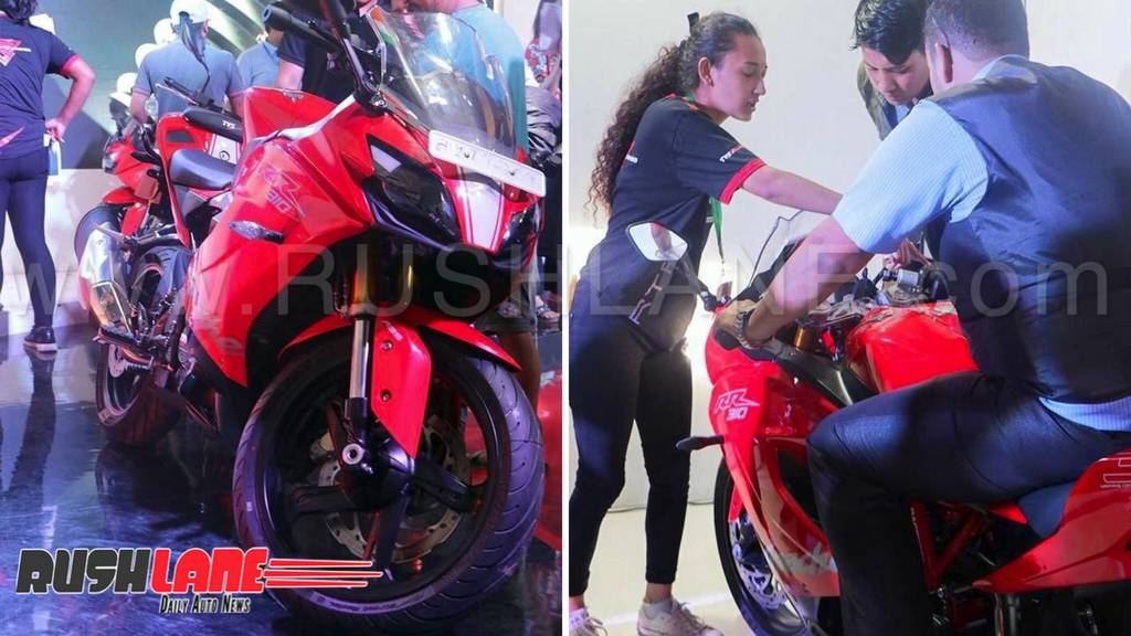 TVS Apache 310 launched in Nepal - Price NPR 7 8 lakhs (Rs